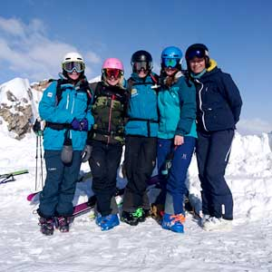 gap year ski instructor course in tignes image of