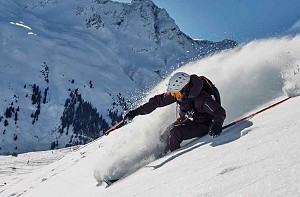 all mountain skiing in val d'isere image of