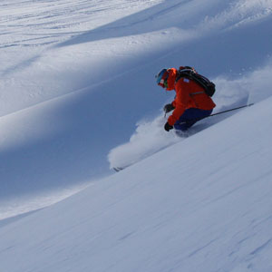OFF PISTE PRIVATE LESSON IN COURCHEVEL IMAGE OF