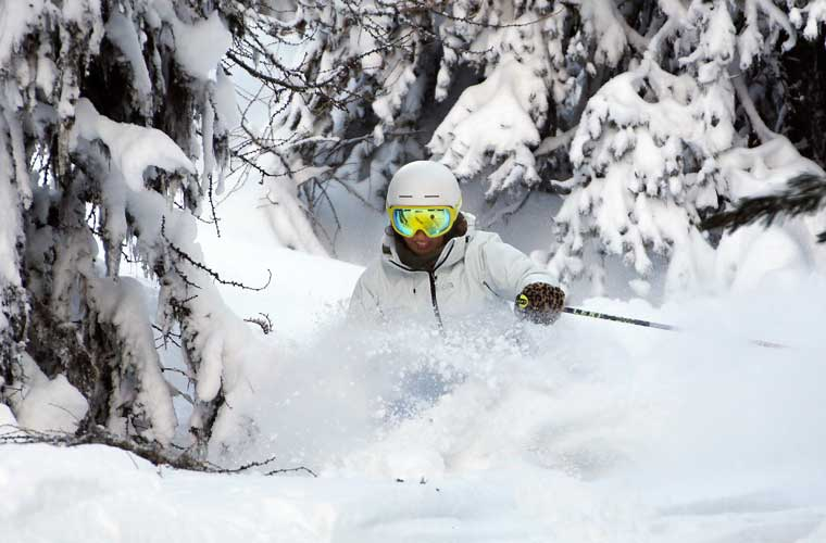 Off-Piste Private Lessons in Meribel image of