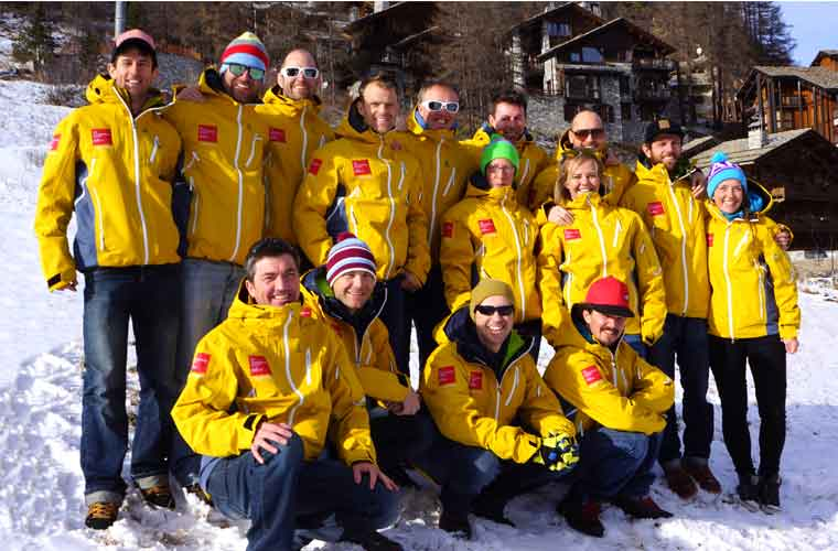 our team of val d'isere ski instructors