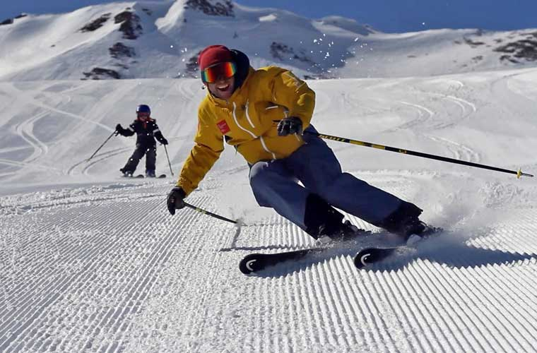 Kids Private Lessons in Meribel image of