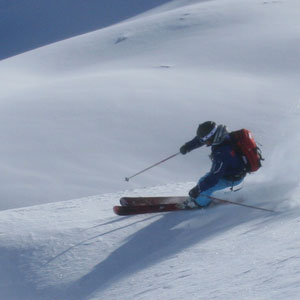 Private off piste lesson in val d'Isere image of