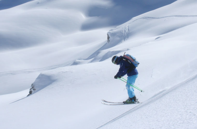 Private Off Piste Lessons in Courchevel image of